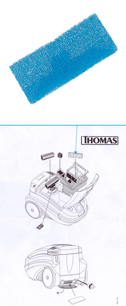 Пористый фильтр Thomas TWIN