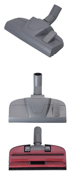 Насадка THOMAS для ковра для уборки шерсти домашних животных с переключателем, графитово-серая + логотип