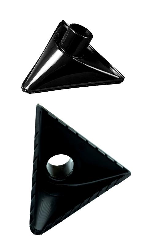 Насадка треугольная для грубого мусора