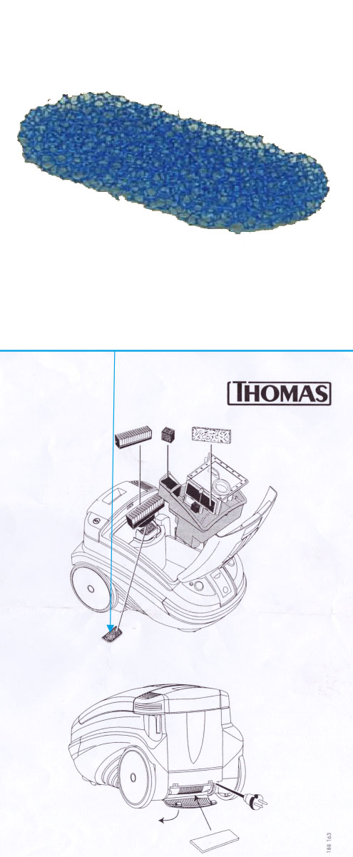 Моторозащитный фильтр (овал)